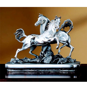 Статуэтка «Два коня»