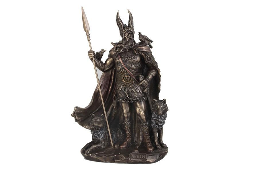 Статуэтка Oдин – скандинавский бог Veronese