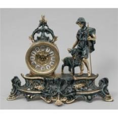 Часы-фигура из бронзы Пастух