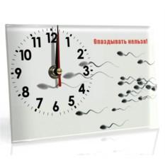 Настольные часы Не опаздывай