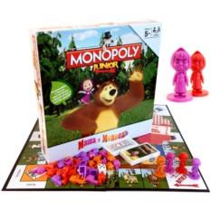 Игра «Монополия. Маша и Медведь»