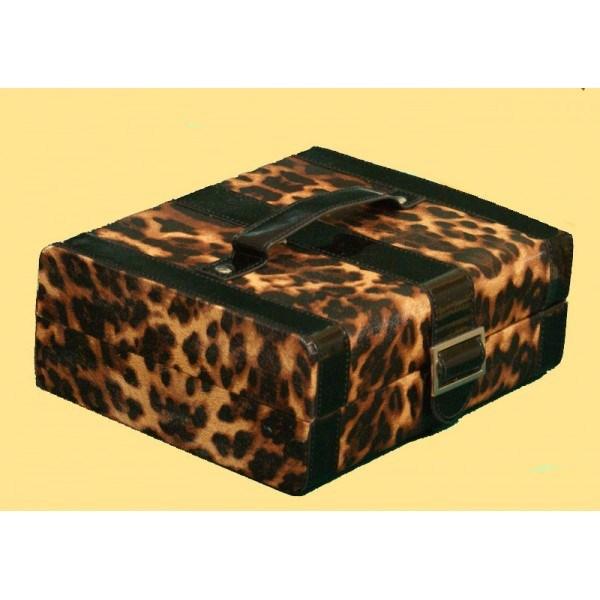 Леопардовая катулка для ювелирных украшений