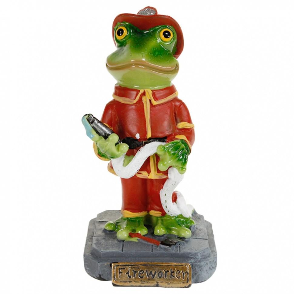 Статуэтка Лягушка — пожарный