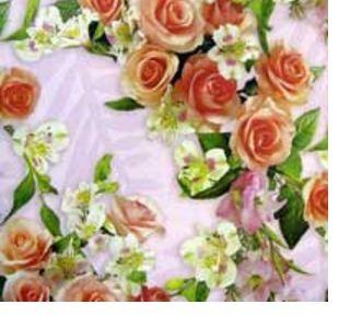 Подарочная упаковка с розами