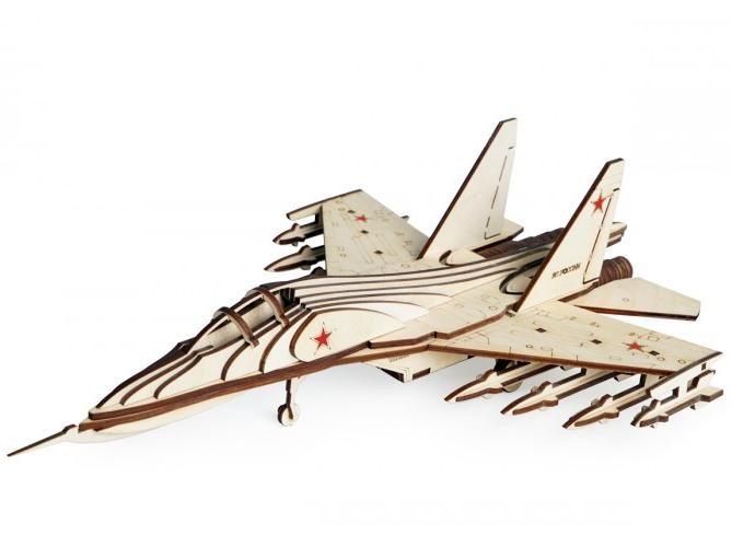 3D конструктор Истребитель СУ-30