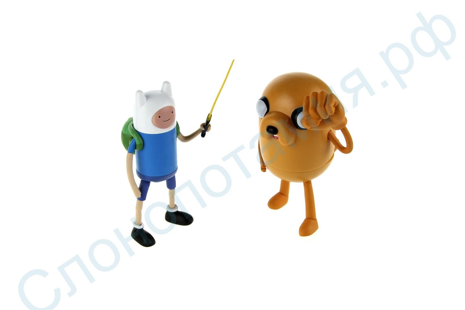 Набор игрушек Фин и Джейк Время Приключений