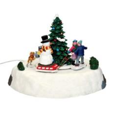 Новогодняя композиция Зимние забавы со Снеговиком