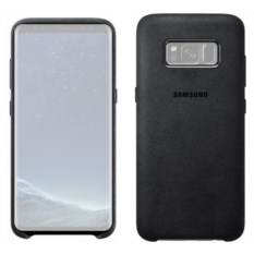 Чехол для Samsung Galaxy S8 Alcantara Cover Dark Grey