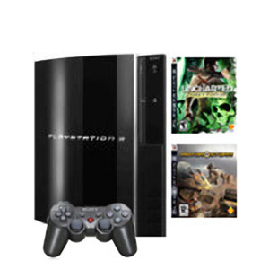 PlayStation 3 RUS (40Gb) + Motorstorm + Uncharted