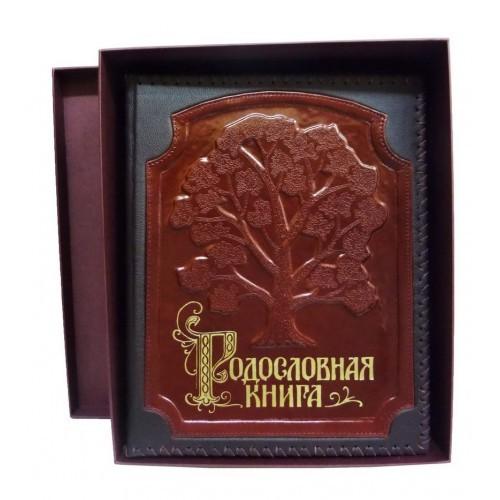 Родословная книга в картонной коробке