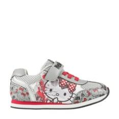 Серые кроссовки для девочек Hello Kitty