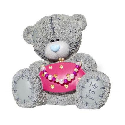 Копилка «Мишка с розовой сумочкой», MTY
