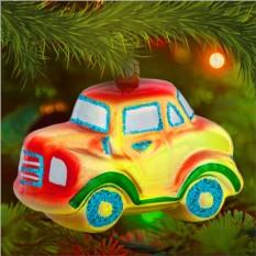 Елочная игрушка «Машинка»
