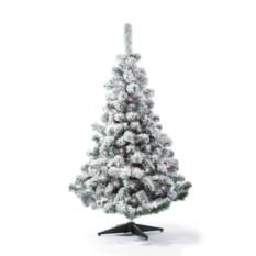 Искусственная елка с огоньками Русская красавица снежная