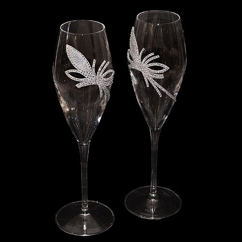 Набор бокалов для шампанского King Flower