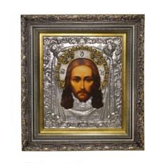 Икона Спас Нерукотворный (с эмалями)
