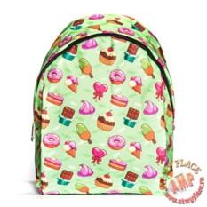 Зеленый рюкзак Вкусняшки