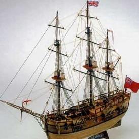 Модель корабля Эндевор