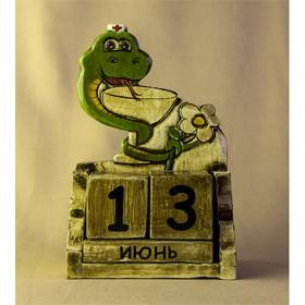Календарь Змея-доктор (Декор антик)