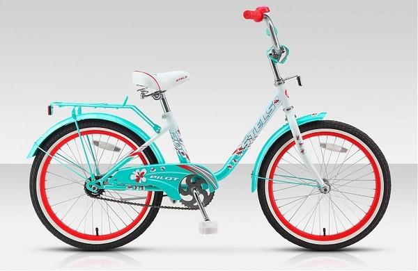 Велосипед 20 Pilot 200 Girl для девочек 5-8 лет