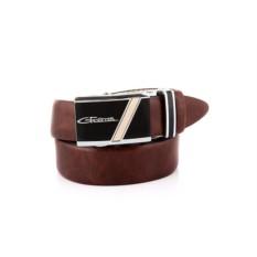Коричневый мужской кожаный ремень G.Ferretti тип 82950107