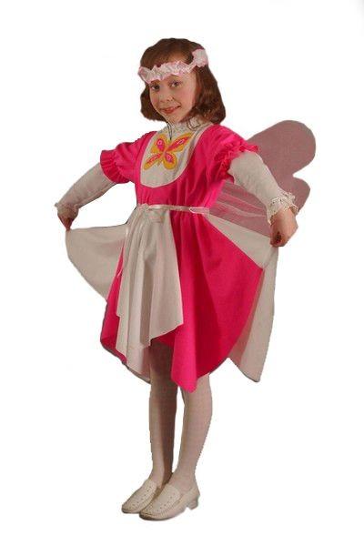 Карнавальный костюм Бабочка Лора, 3-7 лет