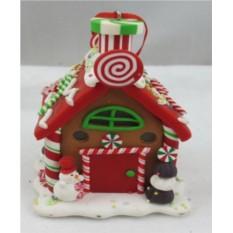 Новогодняя игрушка Пряничный домик