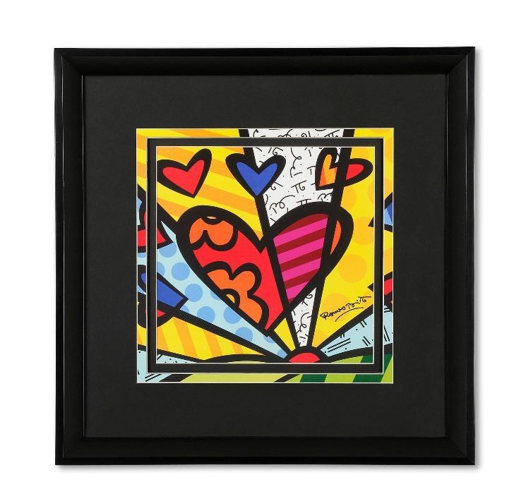 Постер HEART 45х45 см
