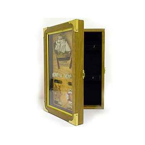Ключница сувенирная со штурвалом