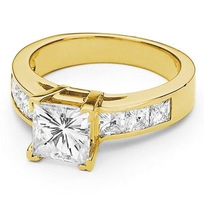 aa2b47bb8a7f Кольцо из желтого золота с квадратным камнем   купить в Подарки.ру