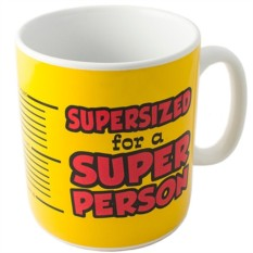 Гигантская кружка Super Person
