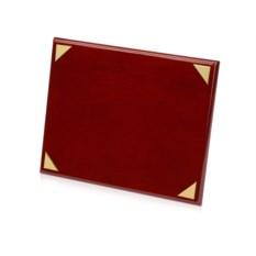 Наградная плакетка из красного дерева