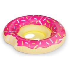 Детский надувной круг Pink Donut