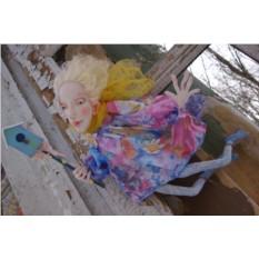 Текстильная кукла EvaDolls Весняночка
