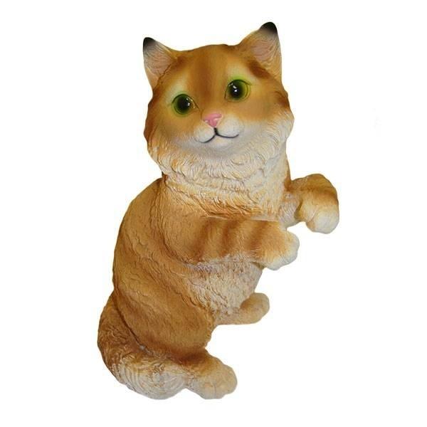 Декоративная садовая фигура Игривый кот