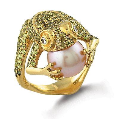 Кольцо «Лягушка»