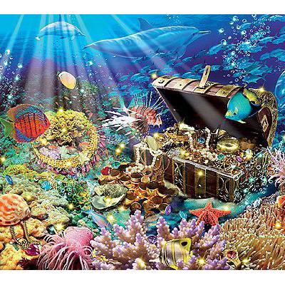 Пазл «Утонувшее сокровище»