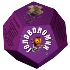 Фиолетовый набор головоломок «Додекаэдр»