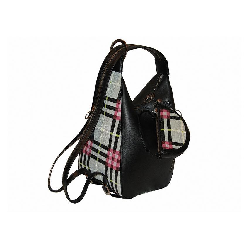 Сумочка-рюкзак из ската