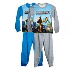 Пижама Minecraft Стив на лошади