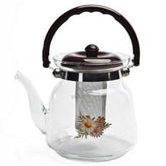 Заварочный стеклянный чайник Glass Teapot