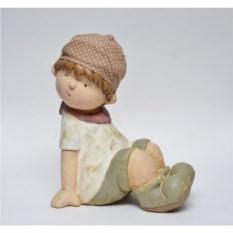 Декоративная садовая фигура Подмигивающий мальчик