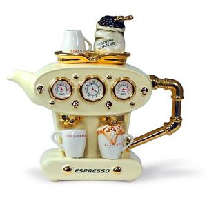 Фарфоровый чайник «Двойной эспрессо»