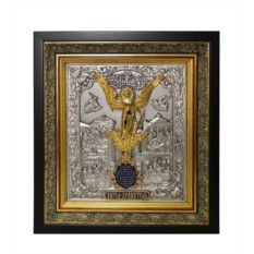 Икона Ангел Хранитель (с эмалями)