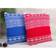 Подушка «Снежный узор»