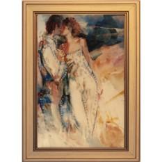 Картина с кристаллами Сваровски Влюбленная пара