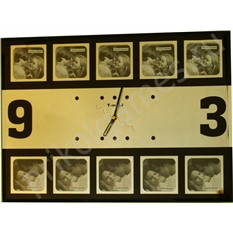 Настенные часы-фоторамка Зеркало