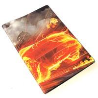 Обложка для автодокументов Огненная машина