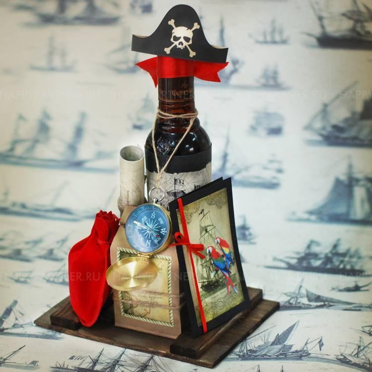 Пиратский «брутальный» подарок Капитан Флинт