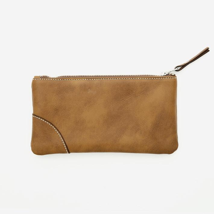 Коричневый кошелёк